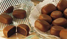 Bombom recheado com creme de Chocolate, Leite NINHO® e LEITE MOÇA®