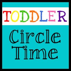 Circle Time with Toddlers is possible! Check out how we do it!