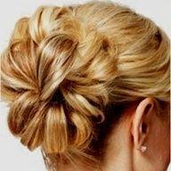 Flower Bun. hairr-styles