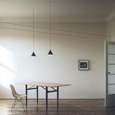 String Lights Modern Pendant Lamp designed by Michael Anastassiades #lighting #pendant