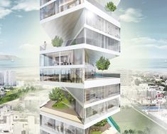LYCS architecture: writhing tower