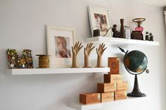 Another one of my favorites from Ikea is the Lack Floating Wall Shelf here .   There are numerous uses and, of course, it goes without s...