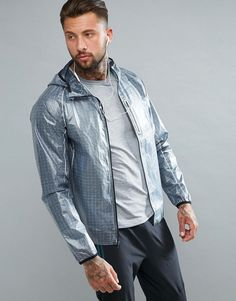 Get this Saucony's sport jacket now! Click for more details. Worldwide shipping. Saucony Running Exo Running Jacket In Grey SAM800015-FSP - Grey: Jacket by Saucony, Supplier code: SAM800015-FSP, Designed for running, Super lightweight smooth fabric, Wind and waterproof design, High funnel neck with fixed hood to keep you dry, Zip fastening, Taped seams to keep rain and wind out, Reflective trims for enhanced visibility, Bonded front chest pocket for waterproof storage, Slim fit - cut close…