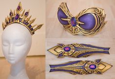 Nightmare Moon Armor costume craft foam headpiece tutorial - Google Search