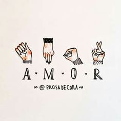 Sign Language Words, Healing Words, Neon Aesthetic, Quotes White, Hand Art, Picture Design, Signs, Character Illustration, Cute Drawings