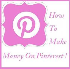 Easily Make Money On Pinterest - Tips for your Businesss on Pinterest