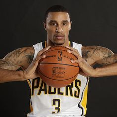 My fave Pacer, George Hill Indiana Basketball, Basketball Baby, Basketball Players, George Hill, Deep Set Eyes, You Are Cute, Baby George, Nba Stars, Indiana Pacers