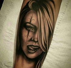 Sugar face tattoo