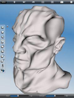 123D Sculpt app for ipad