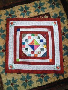 Darla E. Kavanaugh - medallion quilt; sold on ebay for $19.95