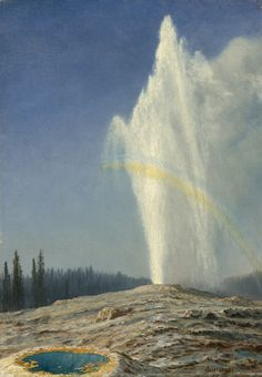 Old Faithful, Albert Bierstadt