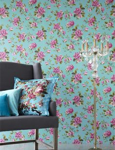 Un Bisou wallpaper from Eijffinger £53.55 10mx53cm Roll ProdRef:310004 Repeat:61cm Half drop repeat. Avail in 8 colourways: AzureBlue/Pink DeepLimeGreen/Pink White/Pink Pink/Pink Red/Pink Lightblue/Pink Lightgreen/Pink and GreyBlue/Pink