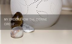 Last week I placed an order with 'The Citrine Circle' on Etsy . Train Of Thought, Posts, Group, Crystals, Lifestyle, Board, Blog, Etsy