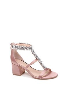 e7235dcf260c Janica T-Strap Embellished Evening Shoe