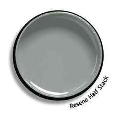 Resene Powder Blue is an antiqued steel blue. From the Resene Karen Walker Paint. Grey Exterior, Exterior Colors, Exterior Paint, Paint Colors For Home, House Colors, Paint Colours, Wall Colors, Colour Pallette, Colour Schemes