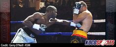 Denton Daley scores a dominating 2nd round knockout victory over Giulian Ilie at The Hershey Centre in Mississauga
