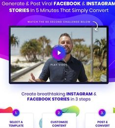 Storymate Luxury Edition Software By Luke Maguire : The Best Story Tool All In One Software That Will Help You To Create Post And Send Huge Traffic To Your Facebook Instagram, Instagram Story, Instagram Posts, Facebook Marketing, Social Media Marketing, All In One, Software, Challenges, Good Things