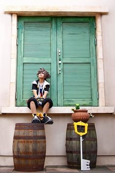 Sora - Kingdom Hearts 2, this is awesome cosplaying!