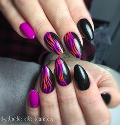 Black And Purple Nails, Stiletto Nails, Nail Designs, Nail Desings, Nail Design, Edgy Nails, Nail Organization, Nail Art Ideas