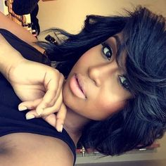 Prime Bobs Middle Part Bob And Middle Parts On Pinterest Hairstyles For Women Draintrainus