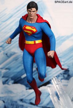Superman: Superman (Christopher Reeve) - Deluxe Figur