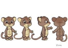 Some more Zootopia designs. First, some Baby Cats. Expressions, poses and turn arounds... Borja Montoro Character Design: Zootopia II