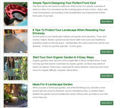 Landscape Design Tips, Ideas & Software Reviews. Also There you can find Landscape Design Photo Gallery & Pictures of Front and Backyard Landscaping >>  Landscaping Ideas --> http://e-landscapedesign.com