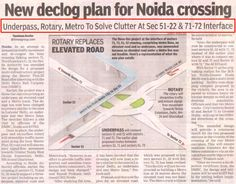 Good news for Home Buyers! Noida is soon going to be traffic free.