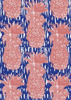 Hannah Rampley pinapple print