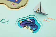 Thailand beach scene made of paper will help you cling on to the last of summer | Creative Boom