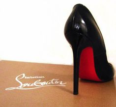 A Pair of Christian Louboutin Shoes