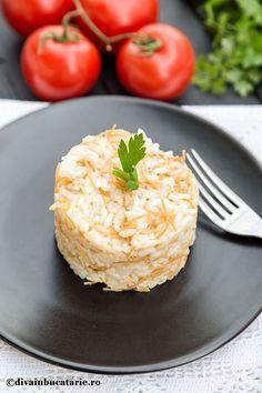 orez-libanez-cu-fidea Lebanese Recipes, Arabic Food, Falafel, Tahini, Risotto, Mashed Potatoes, Grains, Cooking, Ethnic Recipes