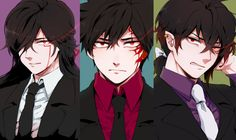 Master Mind, Lunatic Psyker, Diabolic Esper @///@... <3 Except with different hair colour and eye colour