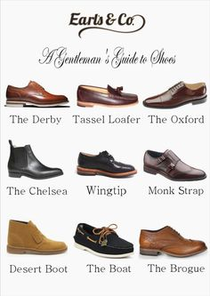 The Earl's & Co. guide to gentleman's shoes