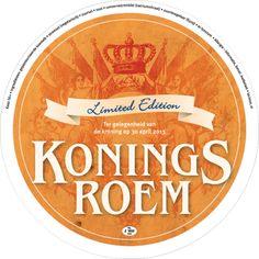 """Con motivo de la coronación de Guillermo Alexander el 30 de abril 2013 tenían una etiqueta de queso """"Limited Edition"""" diseñado."""