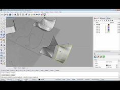 RHINO Curves and Surfaces - YouTube