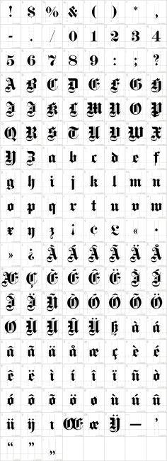 DS Fette Gotisch Font · 1001 Fonts