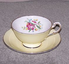 Vintage Paragon Fine Bone China Tea Cup and Saucer | eBay