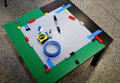 Build it yourself Lego table-Brilliant!