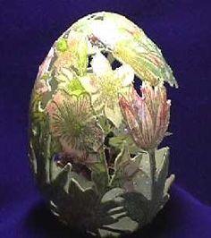 MoonShaddow Egg Art - Easter, craft, sculpture