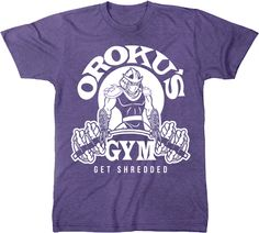 TMNT Oroku's Gym T-Shirt: Teenage Mutant Ninja Turtles Mens T-Shirt