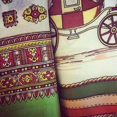 Gorgeous #vintagescarves at #norwichdoesvintage last weekend!  #britaindoesvintage #bdvoutandabout #Norwich
