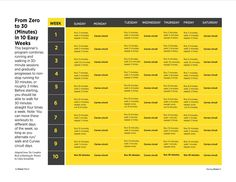 Curves Complete _Running Plan_10 Weeks to a 30Minute Run!! Check it out!!