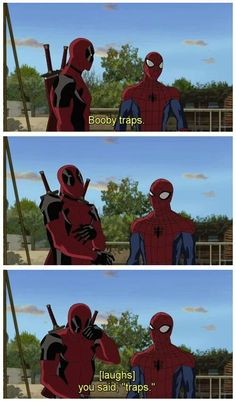 Epic spider-man and deadpool