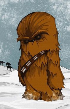 Chewbacca by Chris Uminga