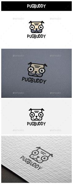 PugBuddy Logo by siridhata PugBuddy For all your pug and puppy vector (editable & resizable). Contains both AI and EPS files. Logo Desing, Logo Design Template, Logo Templates, Logos, Logo Branding, Pet Name Tags, Drinks Logo, Website Logo, Cartoon Logo