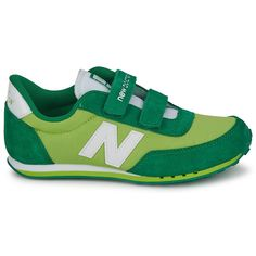 New Balance 410 Kid's Green White Ke410