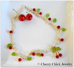 Cherries on the chain necklace #Cherries