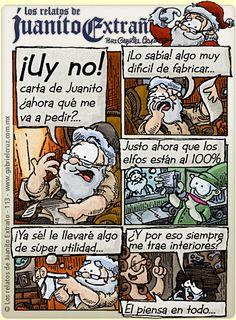 Los relatos de Juanito Extraño · ¡La Navidad está cerca!...