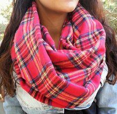 Red TartanPlaid scarf, Winter Plaid Scarf, warm scarf by JLeeJewels on Etsy https://www.etsy.com/listing/168605959/red-tartanplaid-scarf-winter-plaid-scarf
